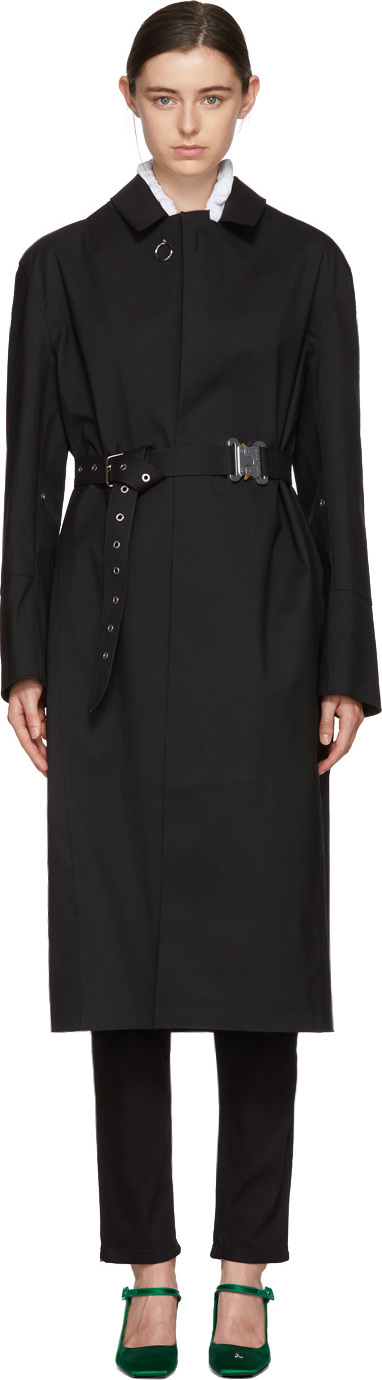 Alyx Black Mackintosh Edition Formal Coat