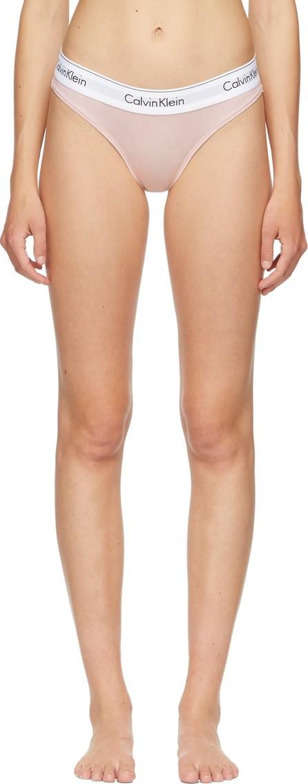 Calvin Klein Underwear Pink & White Modern Bikini Briefs