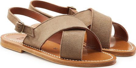 K. Jacques Osorno Suede Sandals