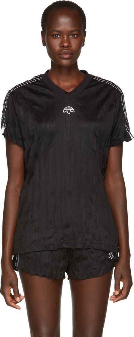 Adidas Originals by Alexander Wang Black Jersey T-Shirt