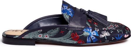 Sam Edelman 'Paris' tassel floral jacquard slide loafers