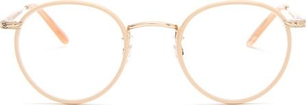 GARRETT LEIGHT Wilson 46 round-frame glasses