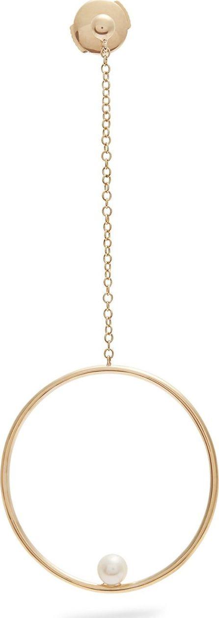 Anissa Kermiche Pearl & yellow-gold single earring