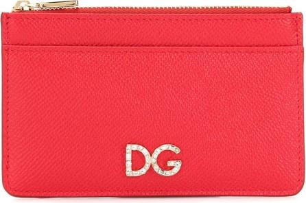 Dolce & Gabbana DG leather card holder