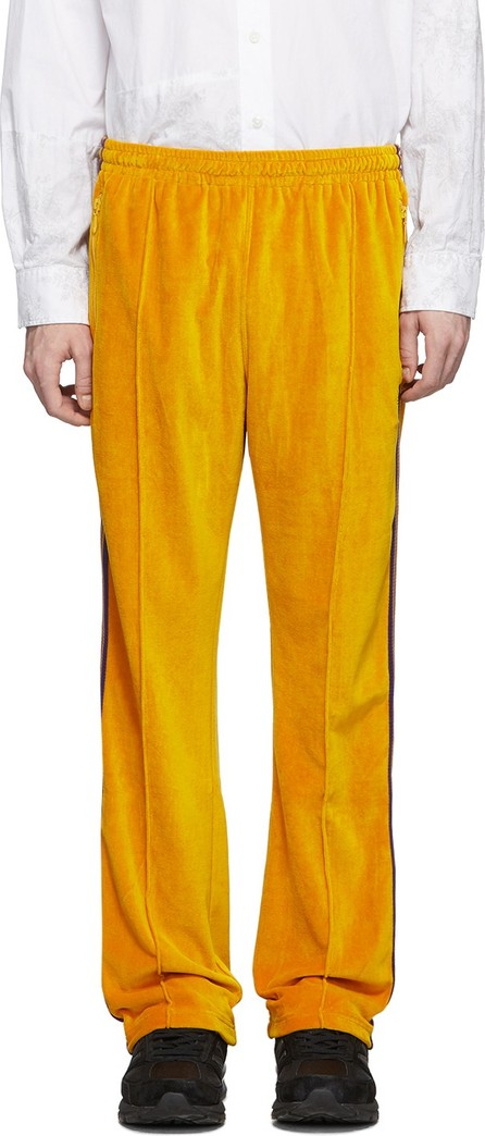 Needles Yellow Velour Lounge Pants
