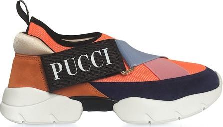 Emilio Pucci Color Block City-Cross Nylon Sneakers