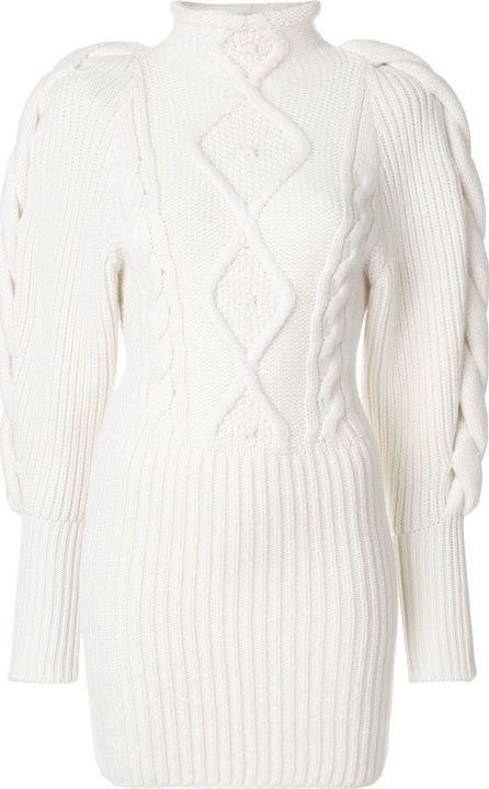 Alexandre Vauthier cable knit turtleneck sweater