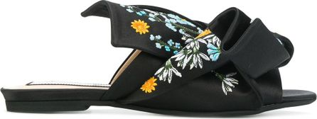 Nº21 embroidered mules