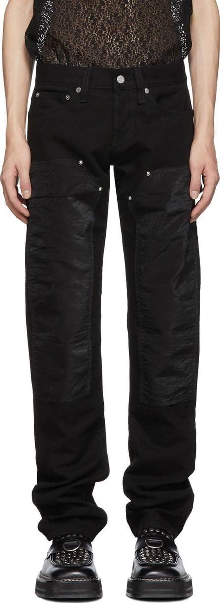 Helmut Lang Black Masc Lo Utility Jeans