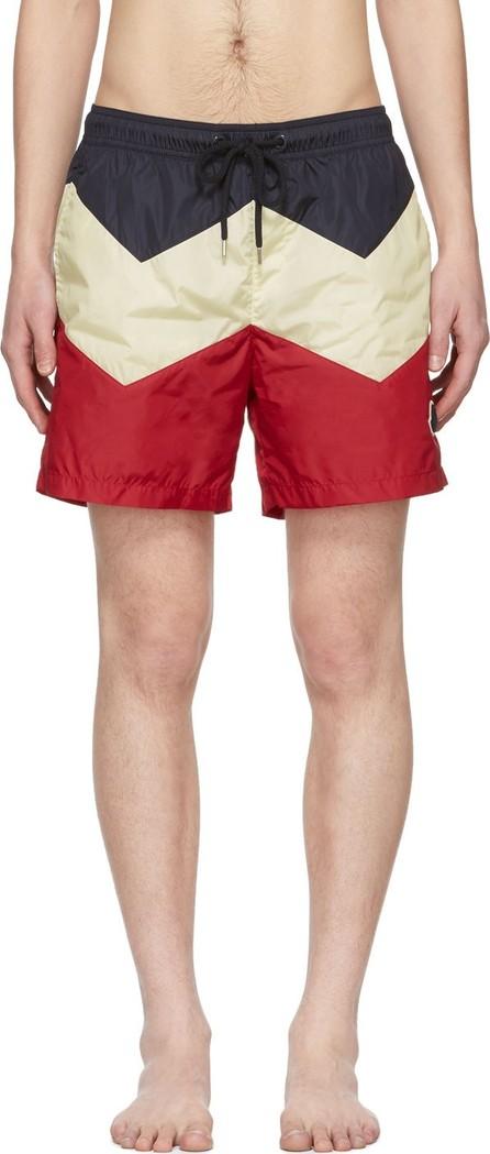 Moncler Tricolor Mare Swim Shorts