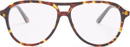 Dior Dior Montaigne52 aviator-frame acetate glasses