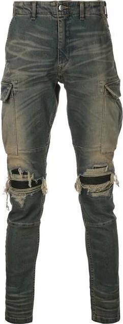 Amiri MX1 Denim Cargo pants