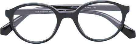 Giorgio Armani round shaped glasses