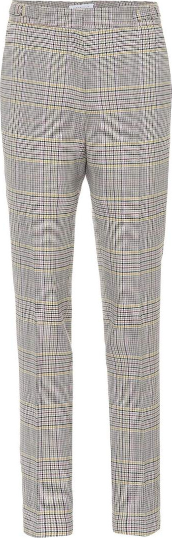 Gabriela Hearst Lisa checked wool pants