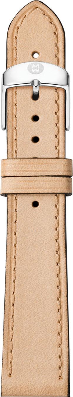 MICHELE 18mm Calfskin Watch Strap