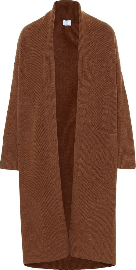 Salvatore Ferragamo Wool and cashmere knit coat