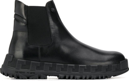 Versace Ridged sole Chelsea boots