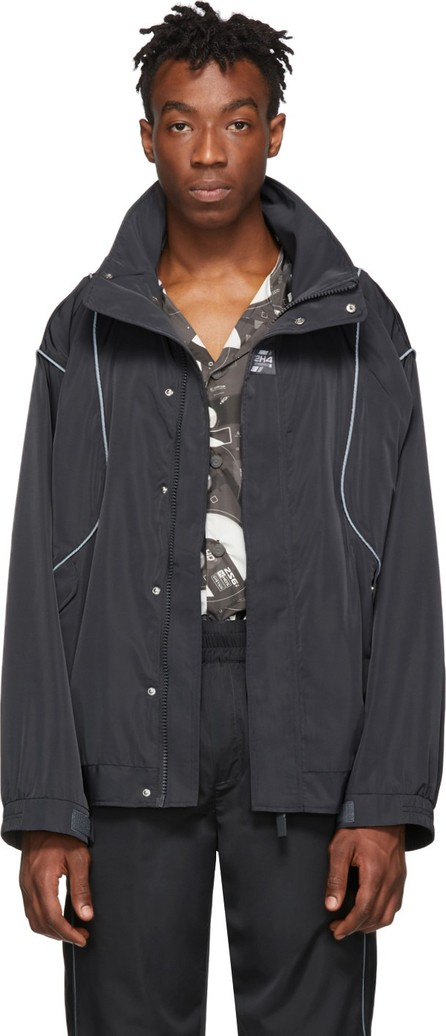 C2H4 Grey 3M Track Jacket