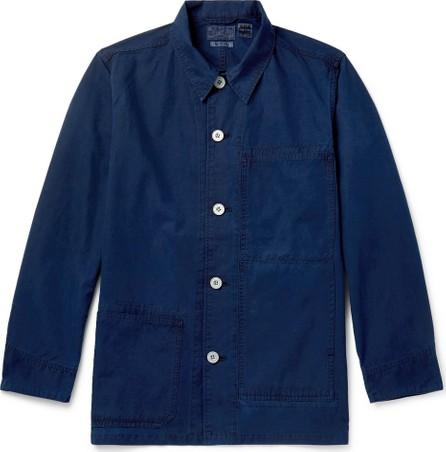 Blue Blue Japan Indigo-Dyed Cotton Chore Jacket