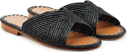 Carrie Forbes Salon Sandals with Raffia