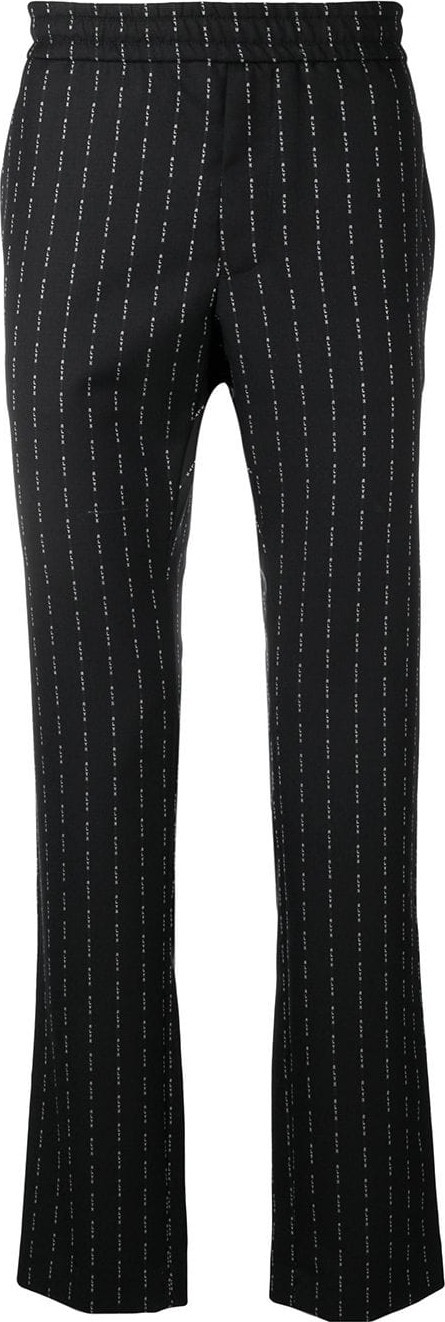 Alyx Logo pinstripe trousers