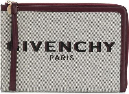 Givenchy Bond zipped clutch