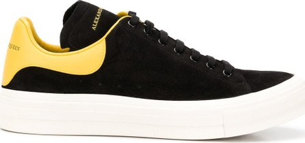 Alexander McQueen Panelled lace-up sneakers