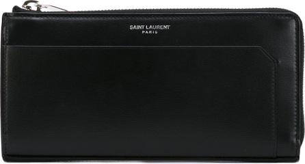 Saint Laurent Fragments zip around wallet