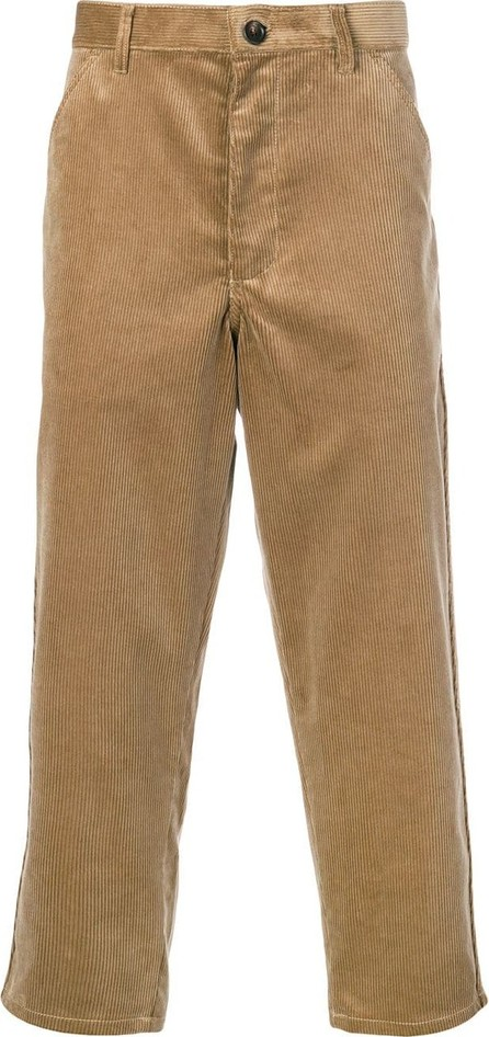 Comme Des Garcons Corduroy cropped trousers