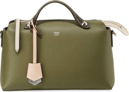Fendi By The Way Small Colorblock Leather Satchel Bag