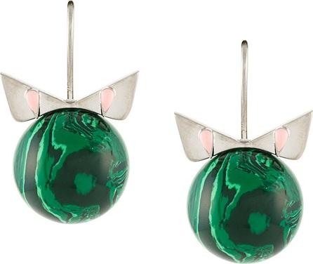 Fendi Crystal Wonder earrings