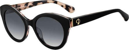 Kate Spade New York karleighs round acetate sunglasses