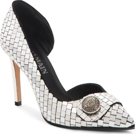 Balmain Julie Mirror d'Orsay Pump