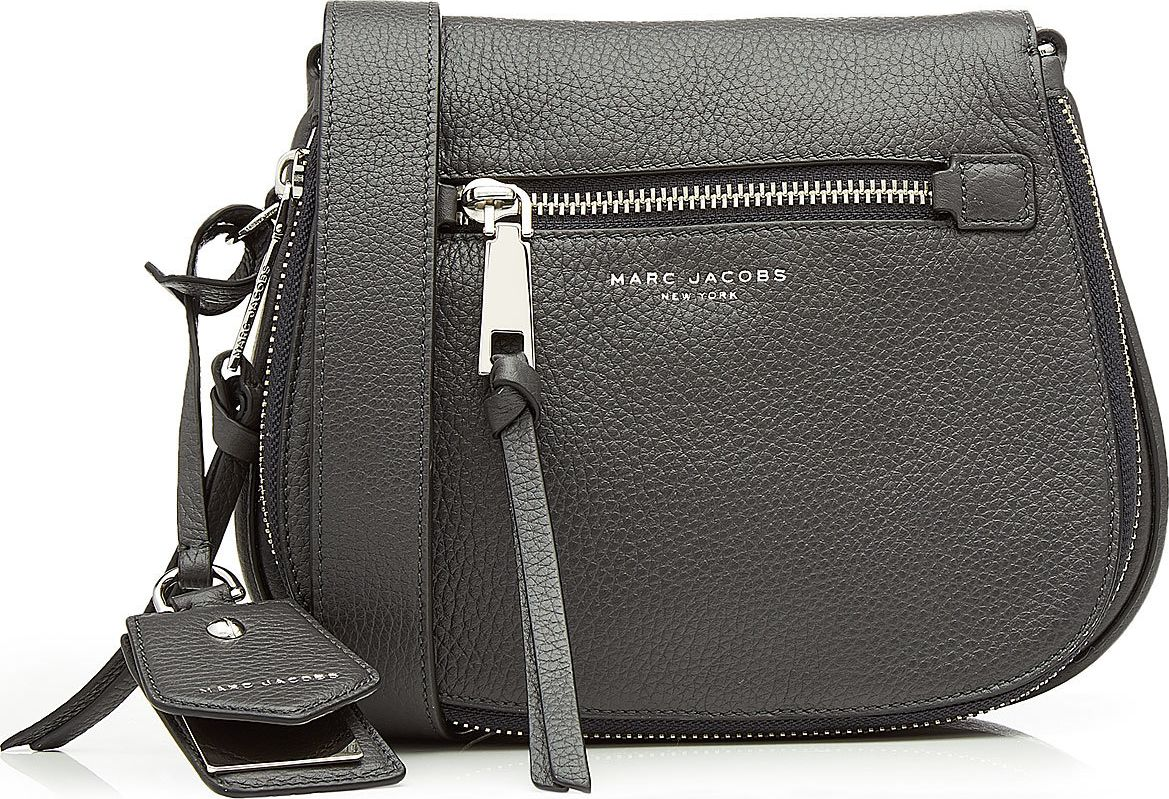 MARC JACOBS - Small Recruit Leather Shoulder Bag
