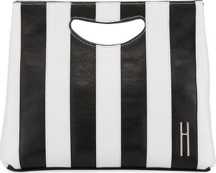 Hayward 1712 Striped Smooth Basket Clutch Bag