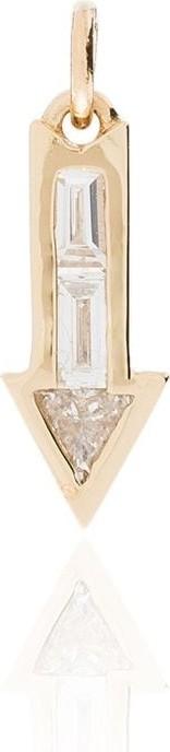 Lizzie Mandler Fine Jewelry 18kt gold arrow charm