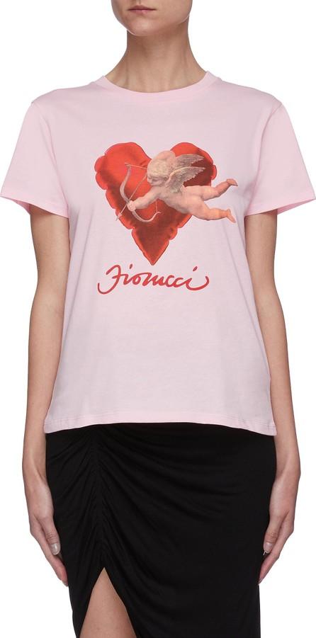 Fiorucci Heart cherub graphic print T-shirt