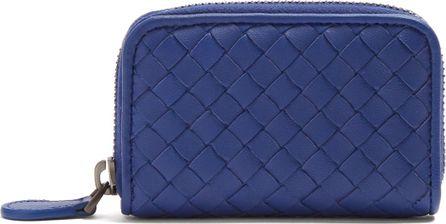 Bottega Veneta Intrecciato leather coin purse