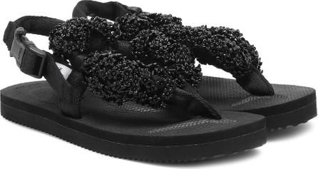 Cecilie Bahnsen x Suicoke Kat embellished sandals
