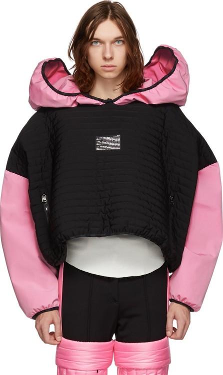 Colmar A.G.E. By Shayne Oliver Black & Pink Villa Ski Hoodie