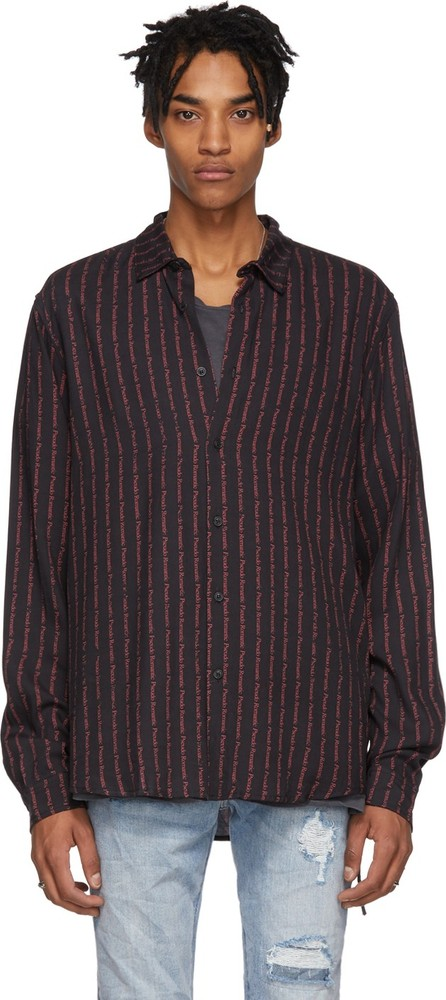 Ksubi Black Pseudo Shirt