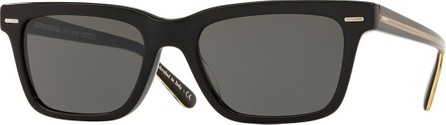 Oliver Peoples BA CC Rectangle Acetate Sunglasses