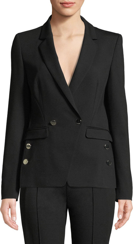 Escada Double-Breasted Jersey Jacket