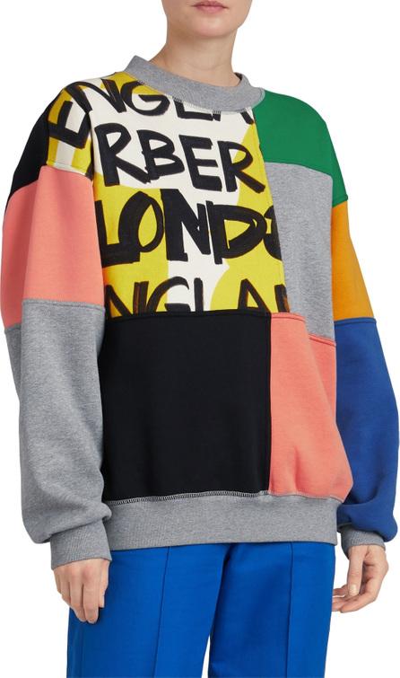 Burberry London England Fluvial Graffiti Print Sweatshirt