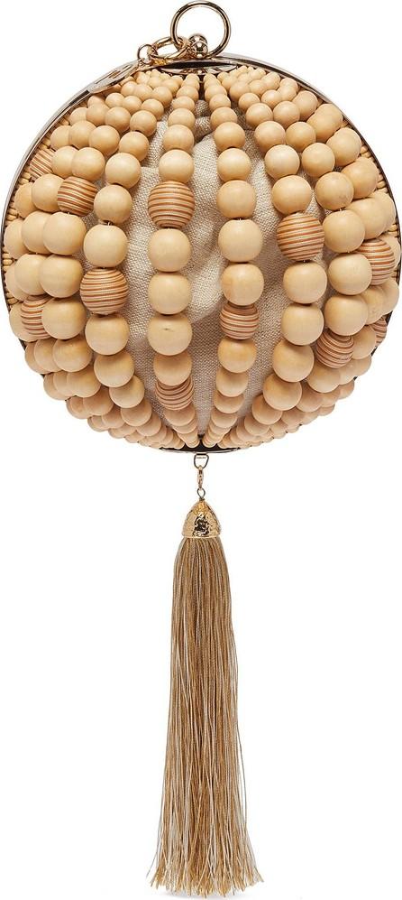 Rosantica 'Billie' bead tassel dome clutch