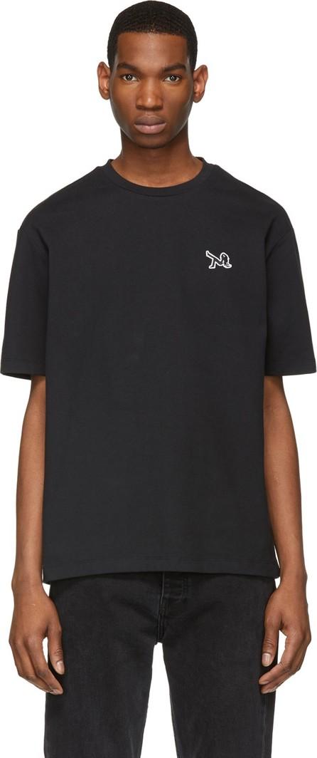 Calvin Klein Jeans Black Icon Embroidery T-Shirt
