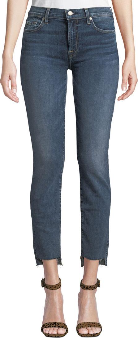 7 For All Mankind Roxanne Ankle Step-Hem Skinny Jeans