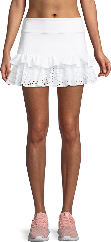 Kate Spade New York eyelet ruffle tennis skirt