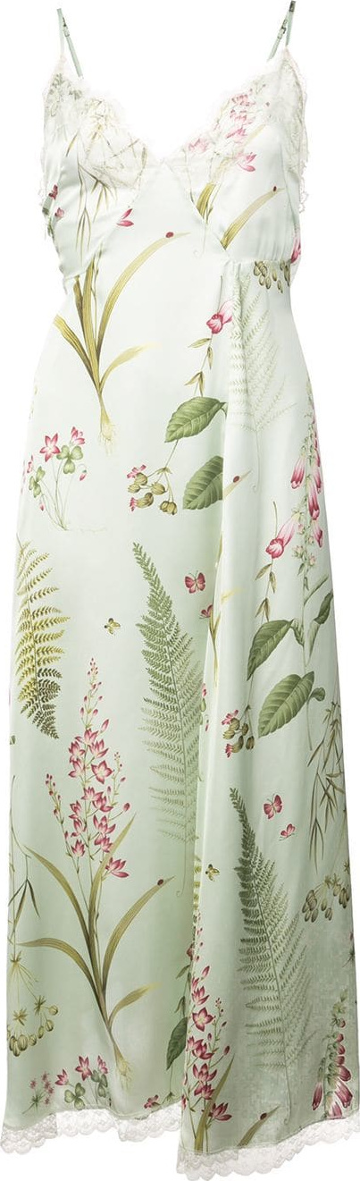 R13 Floral print slip dress