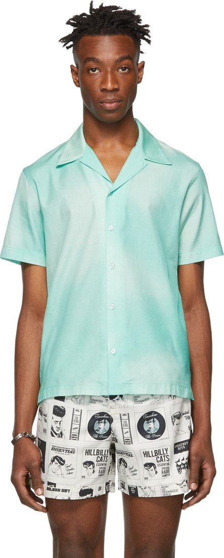 Goodfight Green Silk Le Roi Shirt